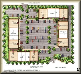 Cascades Office Center Condominiums Siteplan